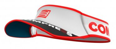 Compressport Ultralight Laufvisor Weiß