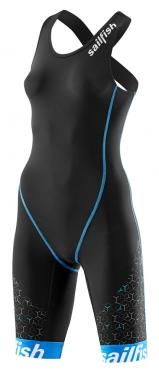 Sailfish Trisuit Pro Schwarz-Blau Damen