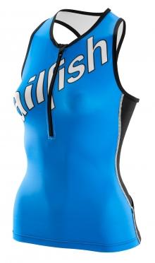 Sailfish Tri top Team Blau Damen