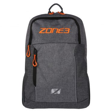 Zone3 Workout Rucksack Grau/Orange
