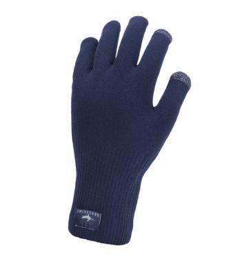 SealSkinz Ultra grip knitted Radhandschuhe Blau