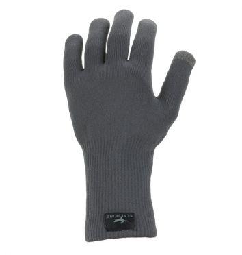 SealSkinz Ultra grip knitted Radhandschuhe Grau
