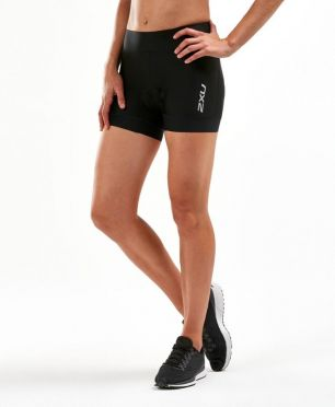 "2XU Perform 4.5"" Tri shorts Schwarz Damen"