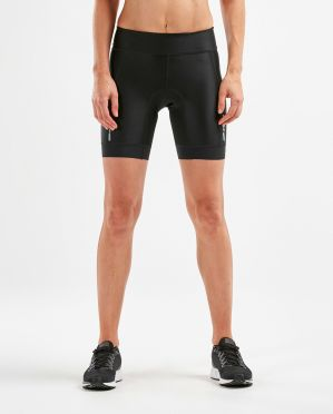 "2XU Perform 7"" Tri shorts Schwarz Damen"