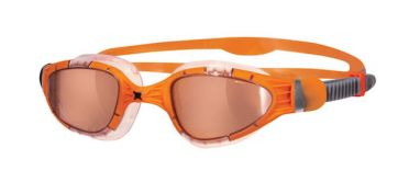 Zoggs Aqua-Flex Titanium Orange linse Schwimmbrille Orange