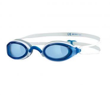 Zoggs Fusion air blaue Linse Schwimmbrille Blau/Weiß