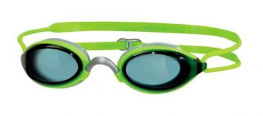 Zoggs Fusion air dunkle Linse Schwimmbrille Grün
