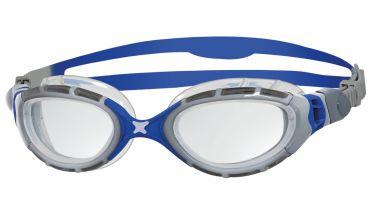 Zoggs Predator flex 2.0 Schwimmbrille Silber/Blau