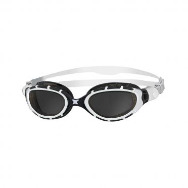 Zoggs Predator flex 2.0 Schwimmbrille Weiß/Schwarz