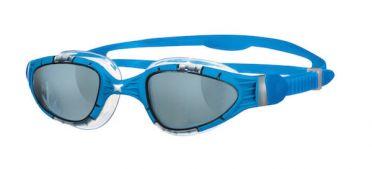 Zoggs Aqua flex Dunkle linse Schwimmbrille Blau