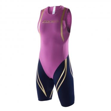 Zone3 Swim Skin Violett/Schwarz Damen