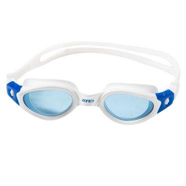 Zone3 Apollo Getönte Linse Schwimmbrille Weiß/Blau