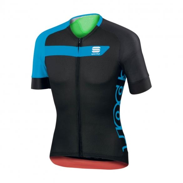 Sportful Veloce Radtrikot Schwarz/Blau Herren  1101741-274