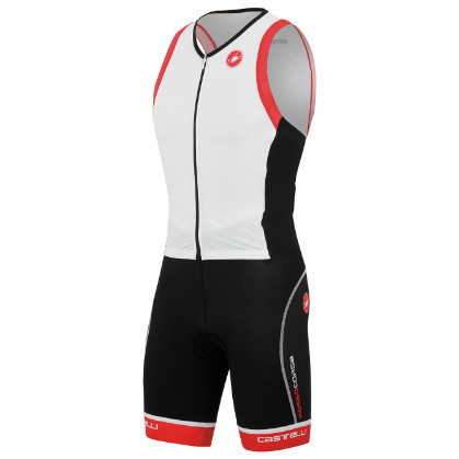 Castelli Free sanremo tri suit sleeveless weiß herren 14107-101 2015  CA14107-101(2015)