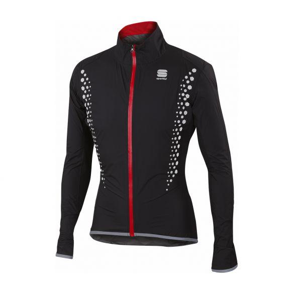 Sportful Hotpack Hi Viz norain Langarm Jacket Schwarz Herren  1101634-002