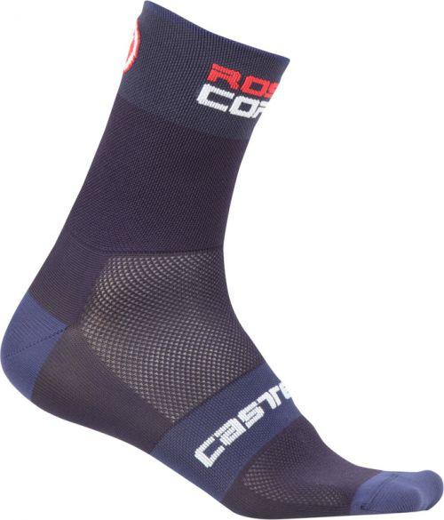 Castelli Rosso corsa 9 Fahrradsocken Blau Herren  17035-070