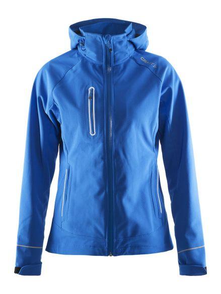 online store 1e493 22a8f Craft Cortina soft shell Winterjacke Blau Damen