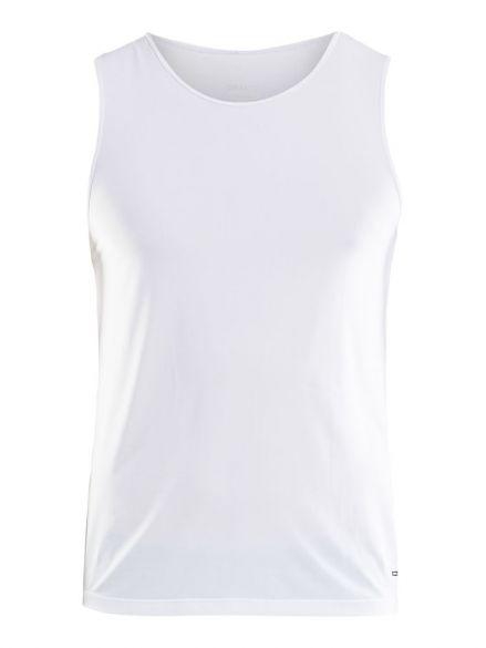 Craft Essential Singlet Ärmellos Unterhemd Weiß Herren  1906051-900000