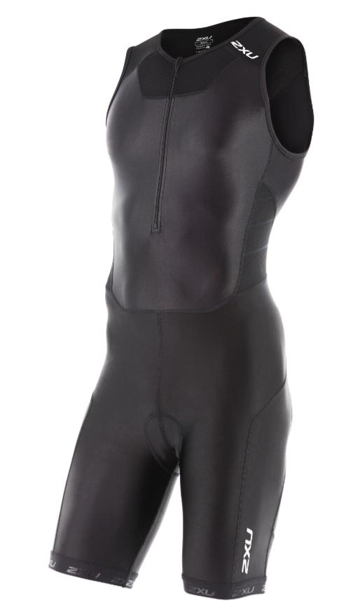 2XU X-vent Front Zip Trisuit Schwarz Herren  MT4354dBLK/BLK