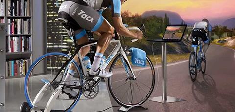 Interaktive Fahrrad trainer