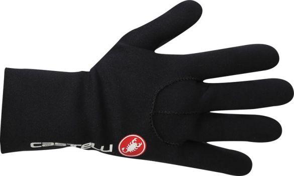 Castelli Diluvio light glove Radhandschuhe Schwarz/Rot Herren  17033-010