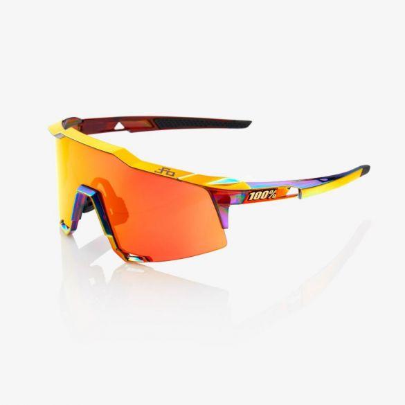 100% Speedcraft Sportbrillen chromium mit hiper lens Rot  18/61001H-903-43