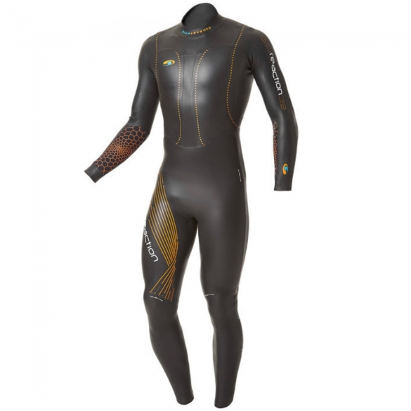 Blueseventy Reaction fullsleeve wetsuit Herren 2015  WSRFS12BLK00ML