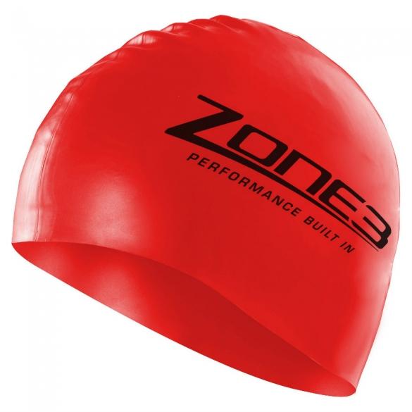 zone3 badekappe swim cap schwarz online kaufen beim tri. Black Bedroom Furniture Sets. Home Design Ideas