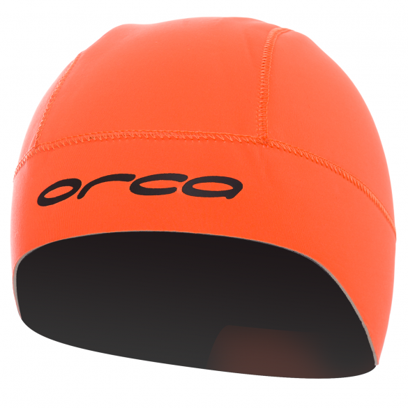 Orca Neopren swim hat Orange  GVBA54