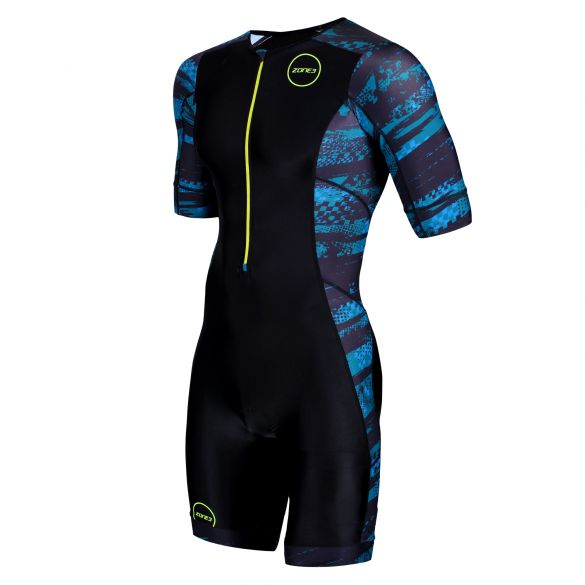 Zone3 Activate Plus Kurzarm Trisuit Stealth speed Herren  TS19MACPP106