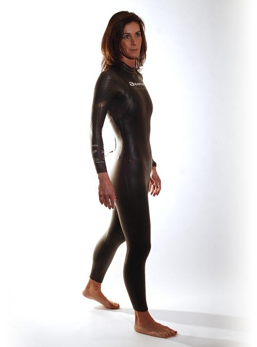 Aquaman Cell Gold Langarm Neoprenanzug Damen  AGOL19