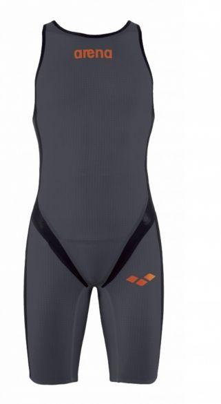 Arena Carbon pro Rear zip Ärmellos Trisuit dunkelgrau Herren  AR1A565-35