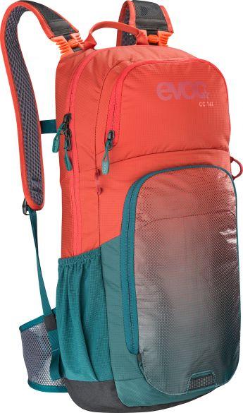 Evoc CC 16 liter Rucksack Rot/Grün  100312517