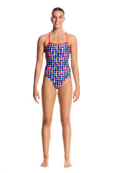 6de63572b162a Funkita Inked Strapped In Badeanzug Damen online kaufen beim tri ...