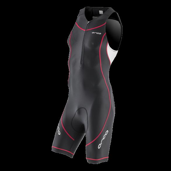 Orca Core basic race trisuit Schwarz/Weiß/Rot Herren  HVCF15