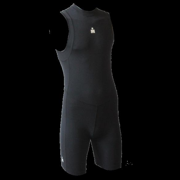 Ironman Trisuit back zip ärmellos B9 Schwarz Herren  IMB951-15
