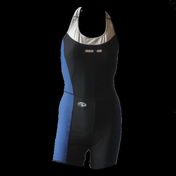 Ironman Trisuit ärmellos open back Duofold Blau/Schwarz Damen  IMW1531-41/15