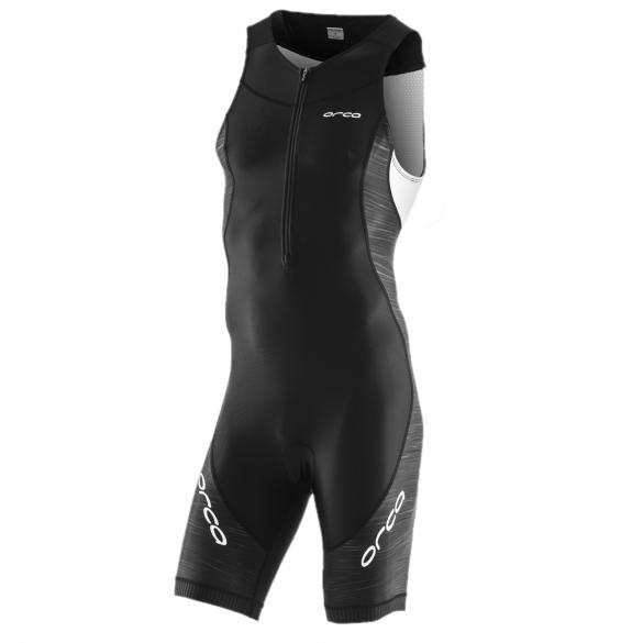Orca Core race Ärmellos trisuit Schwarz/Weiß Herren  JVC002