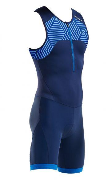 2XU Active Ärmellos Trisuit Blau Herren MT5540d  MT5540d-NVY/LBP