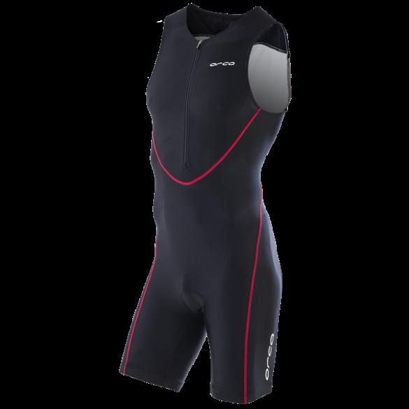 Orca Core equip race trisuit Schwarz/rot Herren  FVCF91