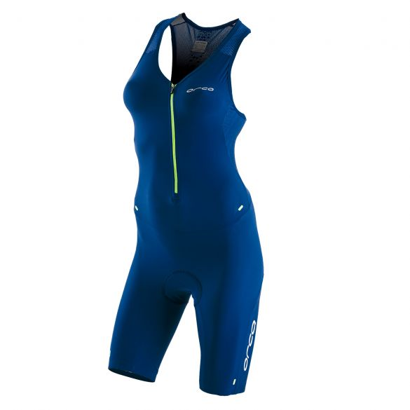 Orca 226 Kompress race trisuit ärmellos Blau Damen  KP5246
