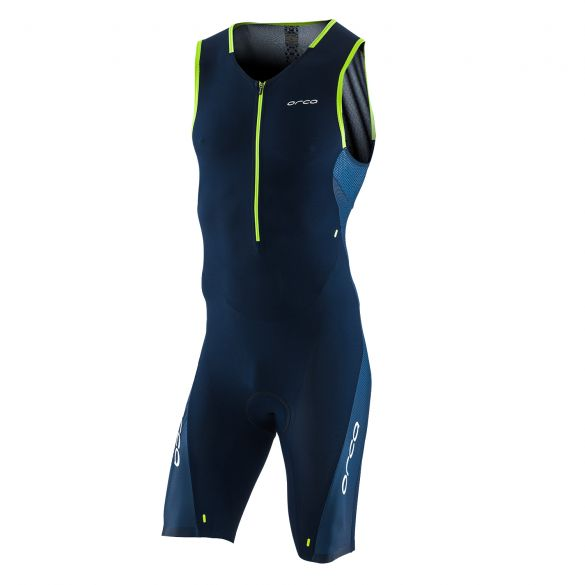 Orca 226 Kompress race trisuit ärmellos Blau Herren  KP1284