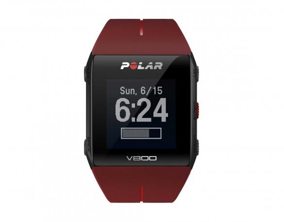 Polar V800 GPS sportuhr mit herzfrequenz-sensor Rot  PV800rood