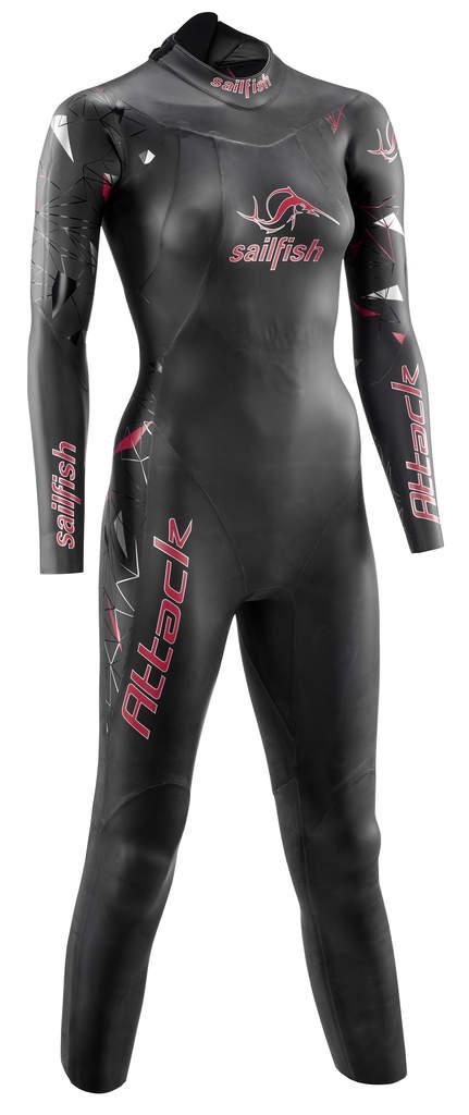 Sailfish Attack fullsleeve wetsuit Damen   SL6223