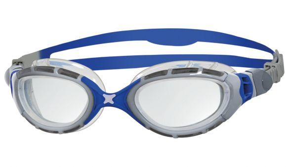 Zoggs Predator flex 2.0 Schwimmbrille Silber/Blau  332848