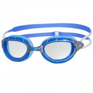 Zoggs Predator Schwimmbrille Silber/Blau