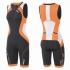 2XU Compression Full Zip trisuit Schwarz/Rosa Damen   WT3619d